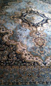 oriental rug blue